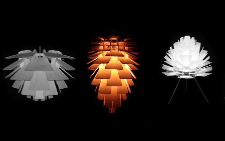 Supercone baut Holzlampen in etlichen verschiedenen Ausführungen mit Hilfe von CNC Maschinen von CNC-STEP.de