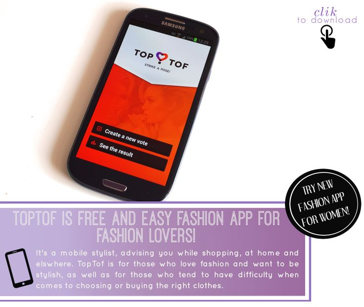 Love fashion? Can't live without it? Try TopTof!