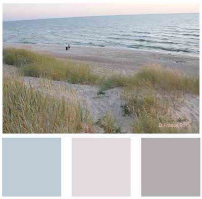 Beach color palette!  Love it!!!