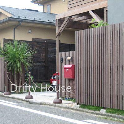 神奈川県藤沢市F様邸エクステリア施工例/北側より