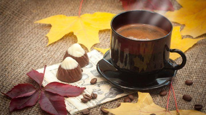 Картинки осень и кофе красивые