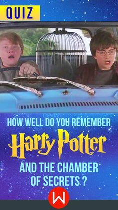 Movie quiz that well test how well you remember this Harry Potter movie Harry Potter and the Chamber of Secrets. HP Trivia. Potterhead Trivia time. Do you know everything about The Chamber Of Secrets? Let's see. JK Rowling, Ron Weasley, Harry Potter.