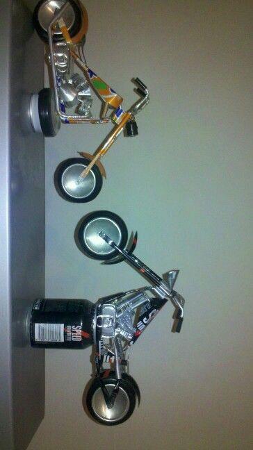 Motos de latas