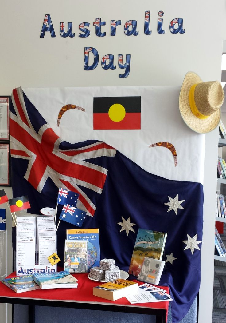 Australia Day 2015 Display Queanbeyan City Library