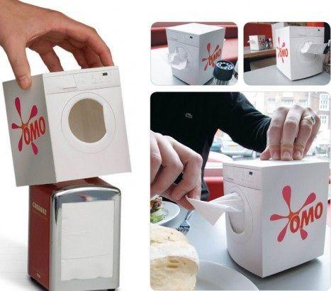 Detergente Omo. #guerrilla -★- miss advertising -★-