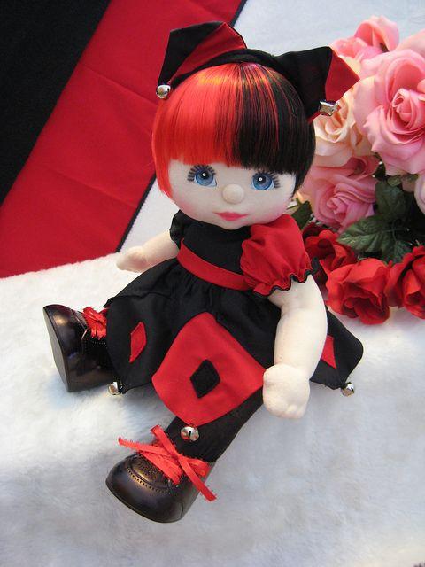 OOAK Mattel My Child Doll ~ Court Jester