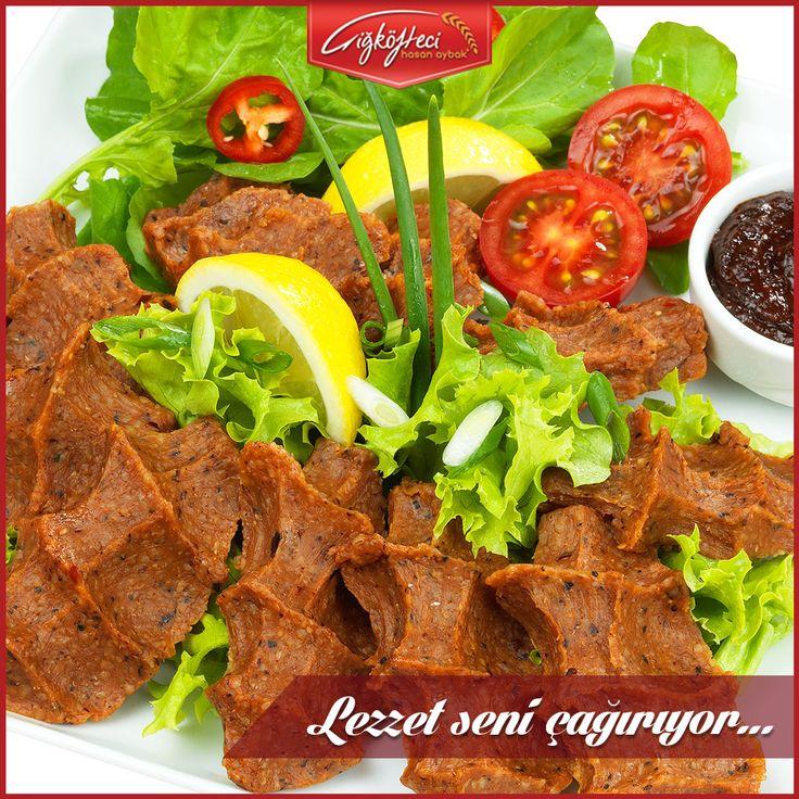 Kusursuz kıvamı, geleneksel tadı ile lezzet seni çağırıyor!  #çiğköftecihasanaybak #çiğköfte #lezzet
