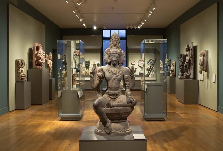 When you're looking for a quiet place to reflect, we suggest the South and Southeast Asian sculpture gallery. Come meditate on the Buddhist and Hindu art in this serene space.