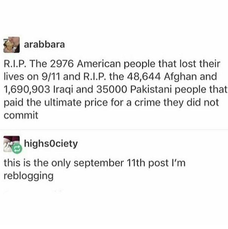 """Not the only 9/11 post, 9/11 was tragic. But oh man, so many have lost their lives. It is a tragedy every single time someone dies unfairly or unjustly. I hate how casually people use the word """"casualties""""."""