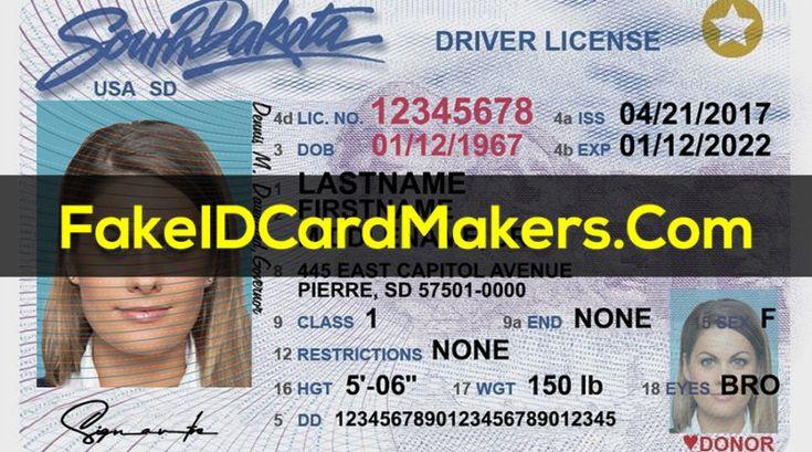 Fake Virginia Drivers License