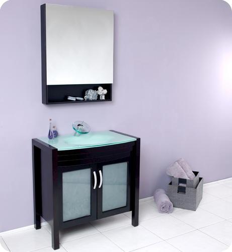 espresso modern bathroom vanity w medicine cabinet at menards