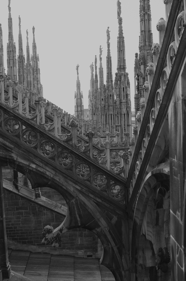 Gothic church , milano      I am an atheist but little compares to gothic style cathedrals. Can I just live in one, please?