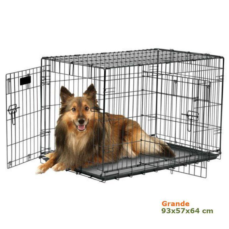 Jaula metálica para perros Grande
