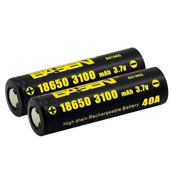 Basen Bs186q 18650 Battery 3100mah 40a In 2021 18650 Battery Vape Batteries Battery