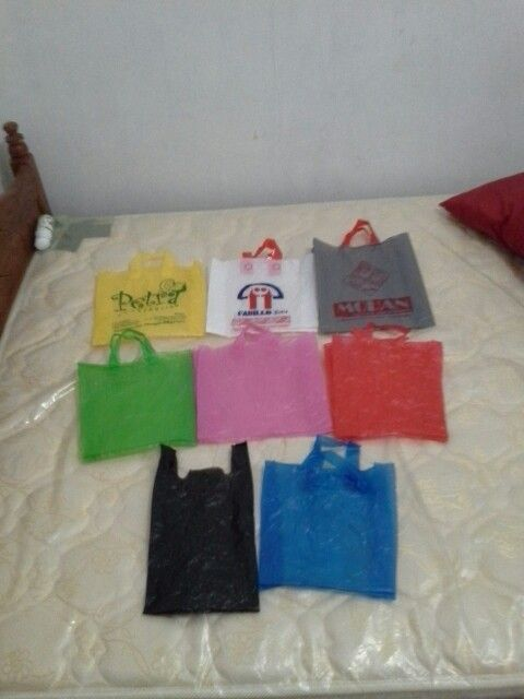 My colection plastic bag
