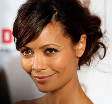 Thandie Newton's has a more mature color that flows with her skin tone