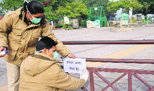 """2 suspected patients in Chandigarh quarantined"". Read more... #IndiaMarketHub #Chandigarh"