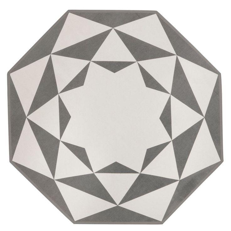 une forme originale octogonale des motifs envo tants. Black Bedroom Furniture Sets. Home Design Ideas