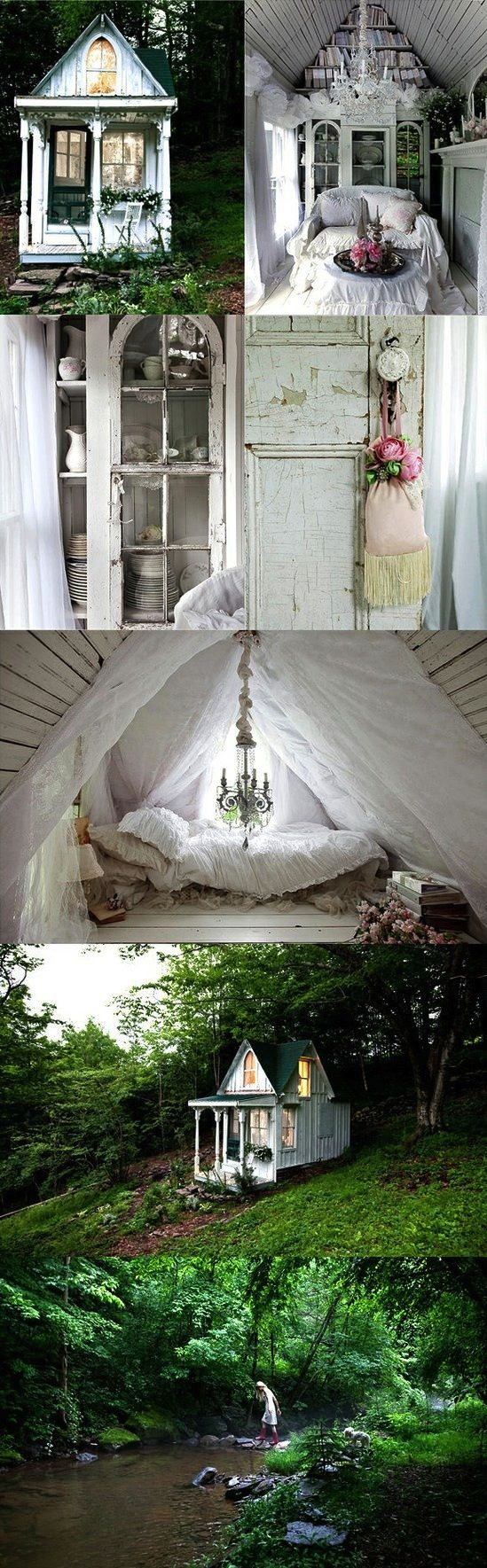 20 Wendy Houses for the Peter Pan in You | Messy Nessy Chic Messy Nessy Chic