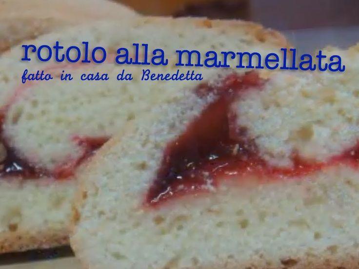 ROTOLO ALLA MARMELLATA DI CILIEGIE FATTO IN CASA DA BENEDETTA Un classico dolce da forno per la merenda dei bambini e per tutte