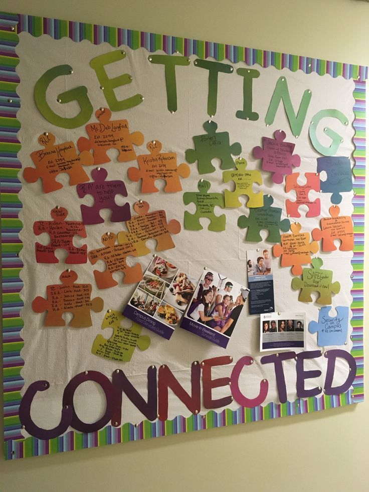Getting Connected - RA September Bulletin Board