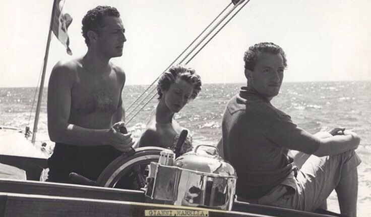 Gianni and Marella Agnelli