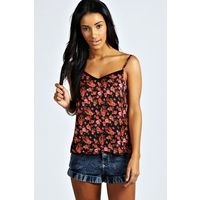 boohoo Emmie Rose Print Cami Top available in multi coloured £ 15.00