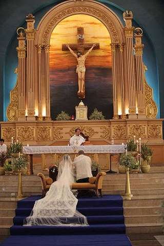 National Shrine of St. Therese Church. Manila, Philippines.