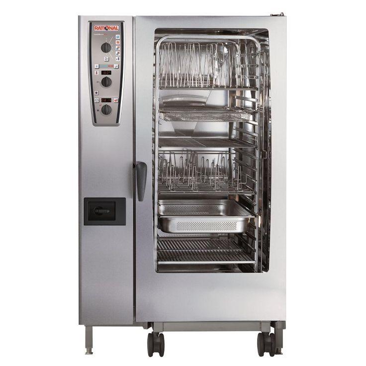 Rational CMP201P 20 Grid CombiMaster Plus 1/1GN Propane Gas Combination Oven - GJ089-P