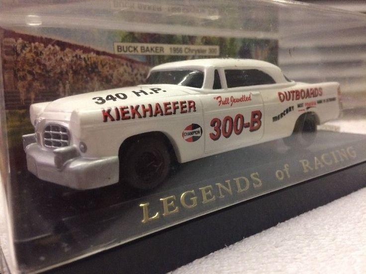 Legends Of Racing 1956 Chysler 300 #300B Buck Baler Stock Car 1/43 1992 Rls #LegendsOfRacing #Chysler
