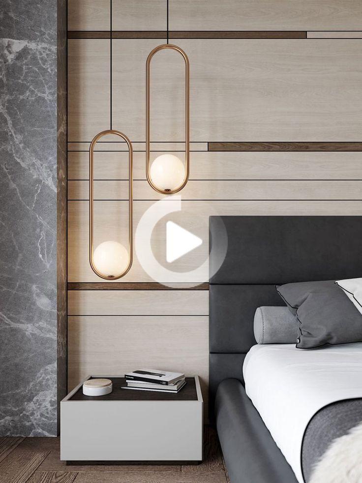 Mila Pendant By Matthew Mccormick Mi 07 Rd Cob 01 Chic Bedroom Design Modern Bedroom Decor Grey Luxurious Bedrooms