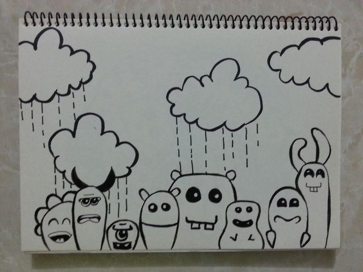 Cute cute cute doodles.