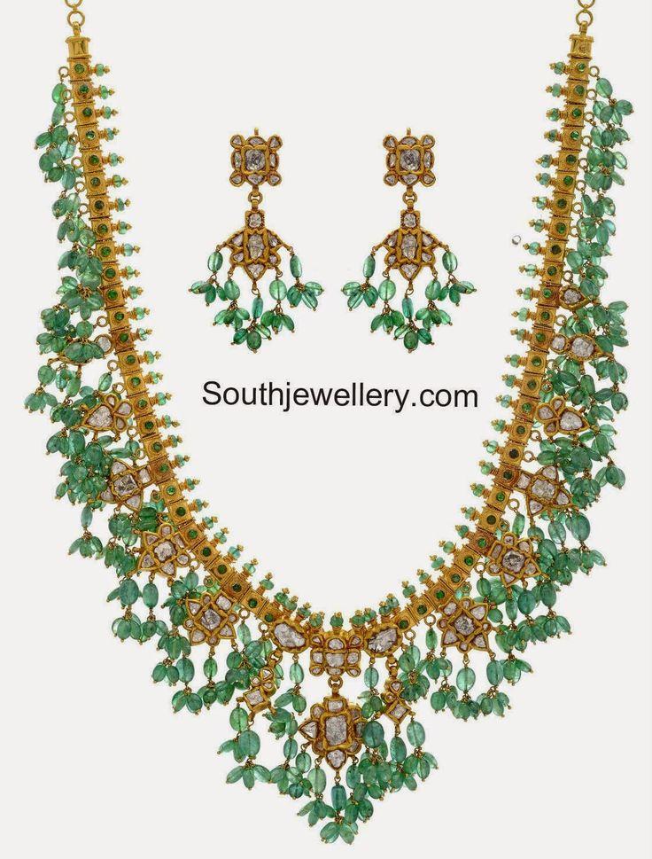 emeralds gotta pusalu necklace