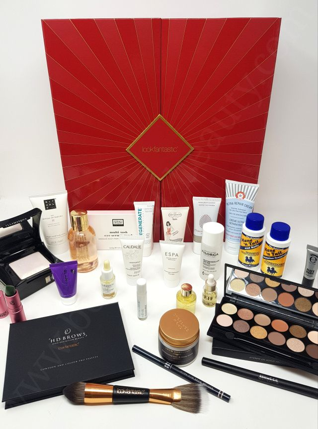 Look Fantastic And Glossybox Beauty Advent Calendars 2018