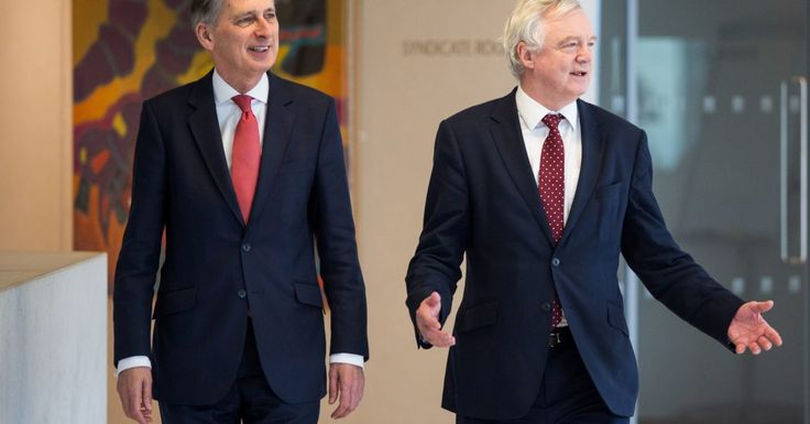 Hammond and Davis: Post-Brexit trade barriers 'make no sense'