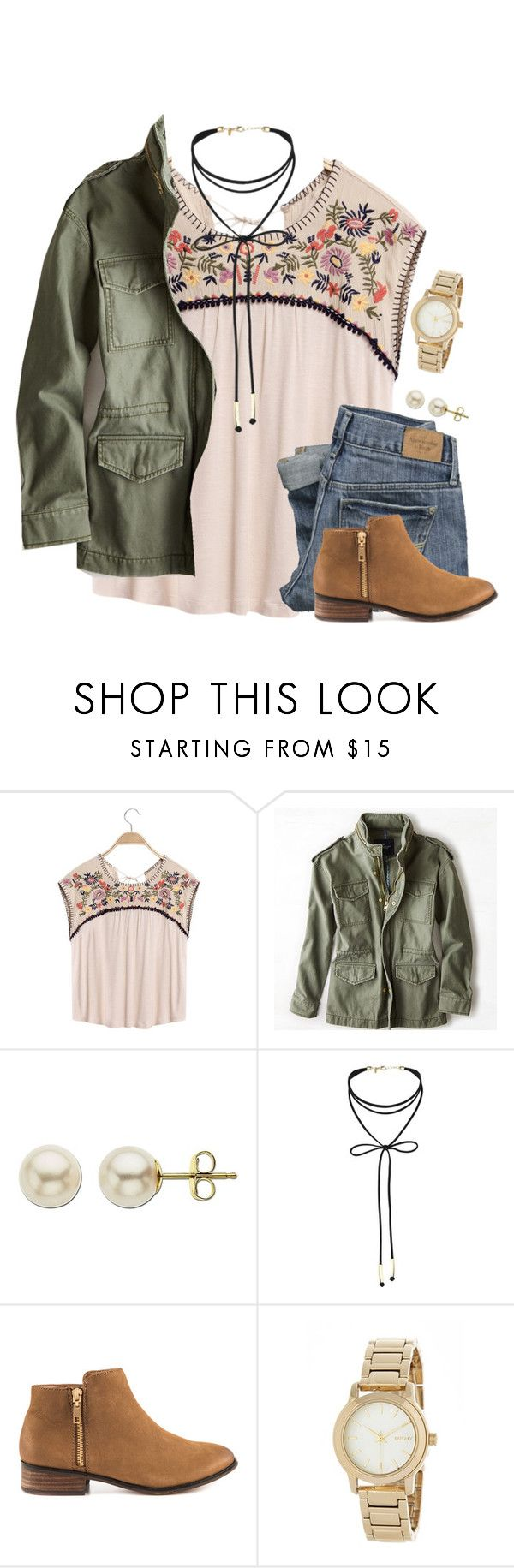"""""""Lord, let them see you in me."""" by amberfmillard-1 ❤ liked on Polyvore featuring Abercrombie & Fitch, American Eagle Outfitters, Lord & Taylor, Miss Selfridge, ALDO and DKNY"""