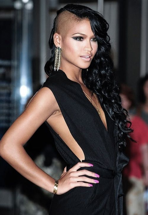 Remarkable 1000 Images About Volosy On Pinterest Side Shave My Hair And Short Hairstyles For Black Women Fulllsitofus