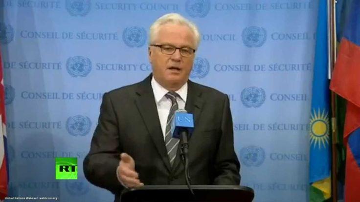 """Vitalij Čurkin: Zasedání Rady bezpečnosti OSN po Ukrajině bylo jak v """"království křivých zrcadel""""."""
