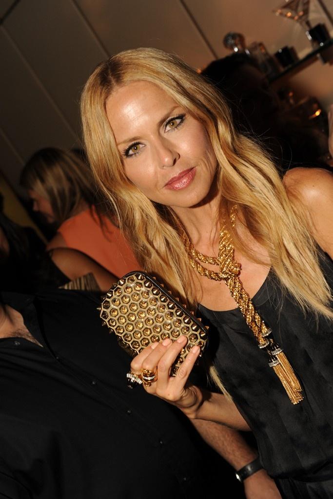 Rachael Zoe - gold accessories