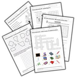 Pack de fiches pour travailler en autonomie (CP/CE1)