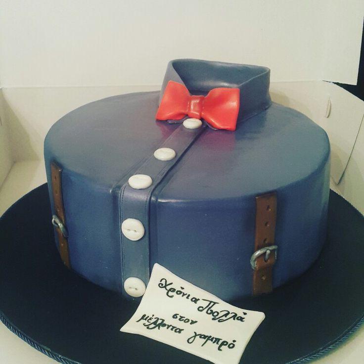 Groom's cake  Fondant cake  Custom Homemade Cakes By Handy Nancy