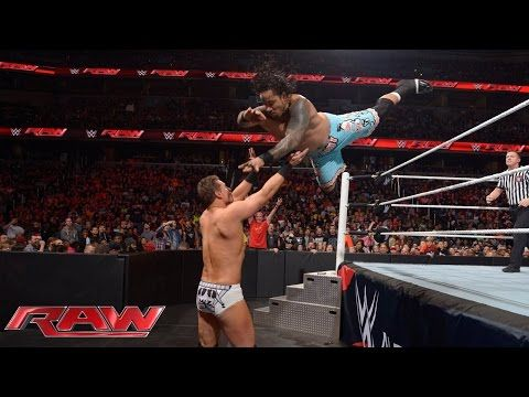 The Usos vs. Miz & Mizdow – WWE Tag Team Championship Match: Raw, December 29, 2014 - YouTube