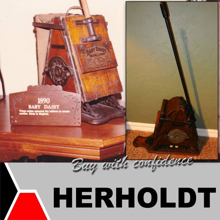 When we found this item, we became quite eager to share it with you. This vacuum cleaner dates back to the 1890's. It's made from oak and is called the Baby Daisy Vacuum Cleaner, what do you think about this awesome antique? #throwbackthursday #tbt #appliances