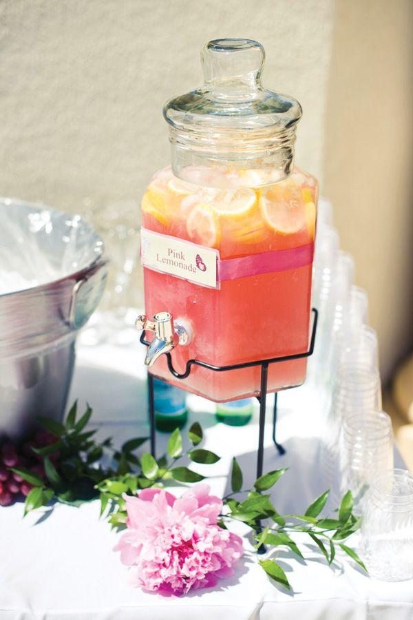 Pink Bridal Shower Ideas | http://mytrueblu.com/pink-bridal-shower-ideas/