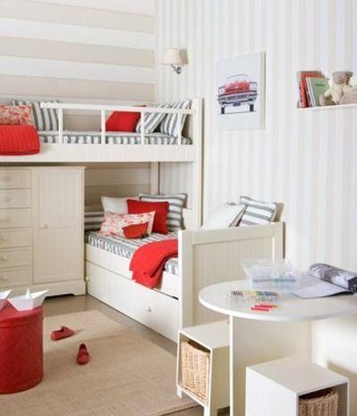 Bunkroom + wide & narrow stripes