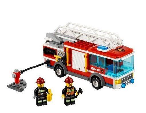 Lego 60002 Tűzoltó teherautó - LEGOszto Webáruház