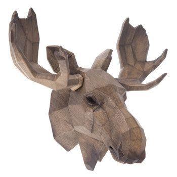 Geometric Moose Head Wall Decor Wall Decor Moose Head