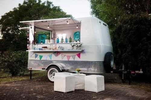 Trailer Gastronómico Food Truck Patentado De Fábrica Con Lcm
