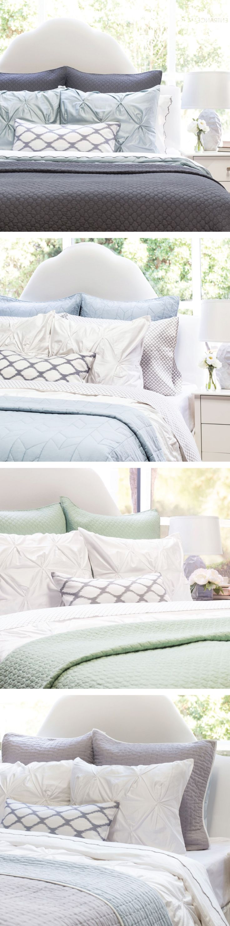 For the most luxurious bed, we believe in layers and layers of silky-smooth softness. Our premium bedding, silky-soft sheets and beautiful quilts and designer pillows were re-imagined for the modern home. As seen on the Today Show.