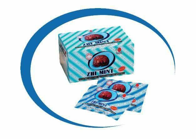 Caramelos Zhi Mint Plus de DXN